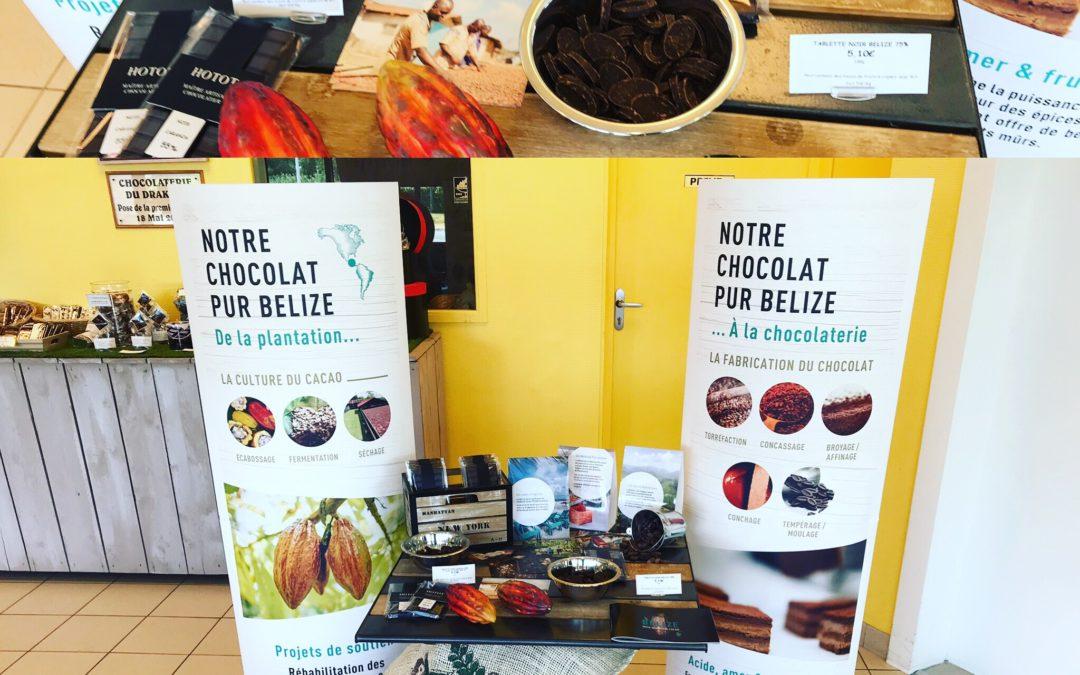 Nouveau chocolat Belize